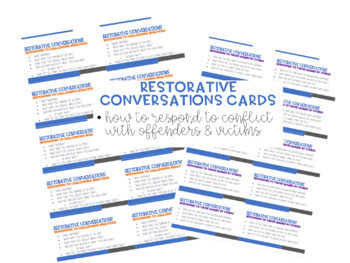 Restorative Justice in the Classroom: Responding to Conflict