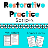 Restorative Practices and De-Escalation Script Mini-Poster