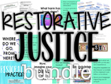 Restorative Practices for the Classroom Bundle NEW!