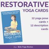 Restorative Yoga Cards for Kids