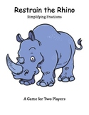 Restrain the Rhino - Simplifying Fractions Game