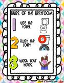 Restroom / Bathroom / Washroom Rules /  Expectations