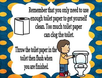 Bathroom/Restroom Social Story (for public bathrooms/restrooms)