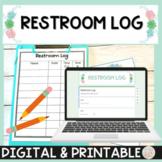 Restroom Log and Restroom Passes