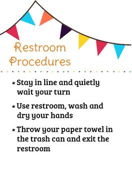 Restroom Procedures