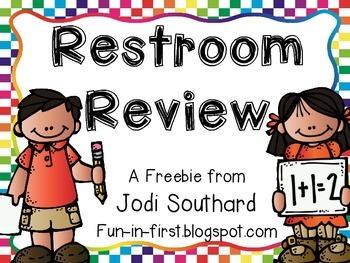 Restroom Review Bulletin Board