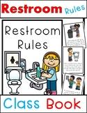 Restroom Rules Class Book (Beginning of School Bathroom Rules)