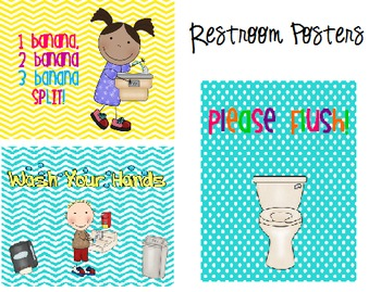Restroom Rules {FREEBIE}