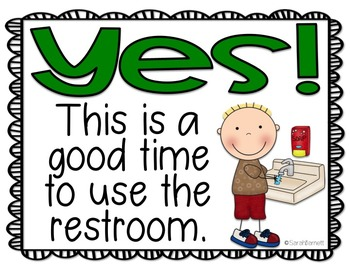 Restroom Signs Freebie
