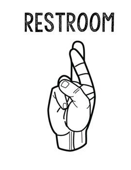 Restroom Tissue Water Signals