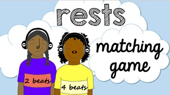Rests Matching Game