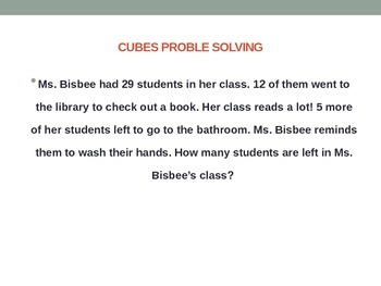 Result Unknown 1&2 step word problems
