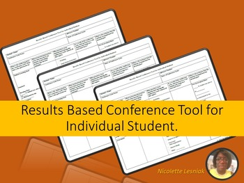 Results Based Conference Tool for Student's