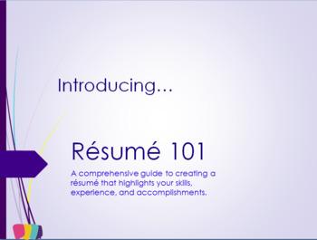 Résumé 101