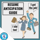 Resume Anticipation Guide