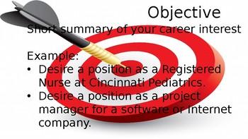 Resume Basics Power Point