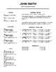 Resume & Cover Letter Template (Editable in Google Docs)