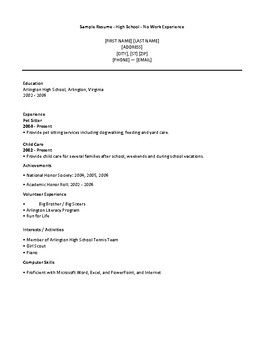 Resume, Cover Letter and Interview Prep 3 Lesson Series