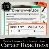 Resume, Cover Letter, and Interview Unit