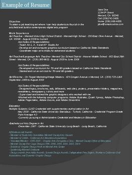 Resume Design PowerPoint