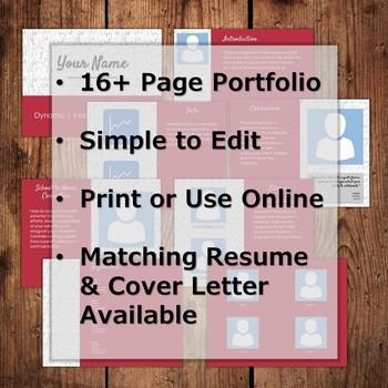 Resume & Portfolio Bundle - Alphabet
