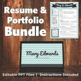 Resume & Portfolio Bundle - Chevron Banner