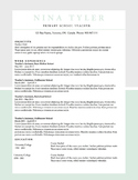 Resume Template MS Word | 6 Pack | Resume & Coverletter |