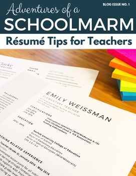 Resume Tips and Tricks for New and Experienced Teachers