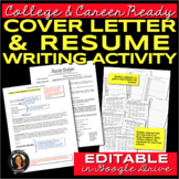 Resume and Cover Letter Writing for College & Career Readiness