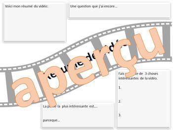 Résumé de vidéo - French FSL