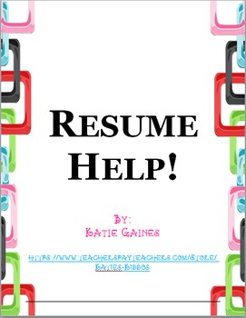 Resume help!