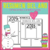 Resumen del Año - New Year's activity in Spanish