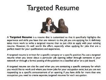 Resumes PowerPoint