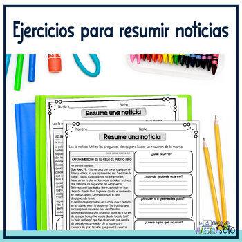 Resumir textos de no ficción | Spanish Summarizing Nonfiction