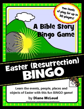Resurrection Bingo! Quick Ready-to-play Easter Game