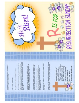 Resurrection Day Easter Gospel Tract