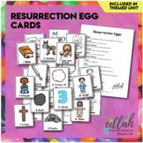 Resurrection Egg Cards - Distance Learning