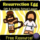 Resurrection Egg | An easy way to share about Jesus and Easter {FREE!}