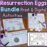 Resurrection Eggs Bundle Print & Digital Easter Activities