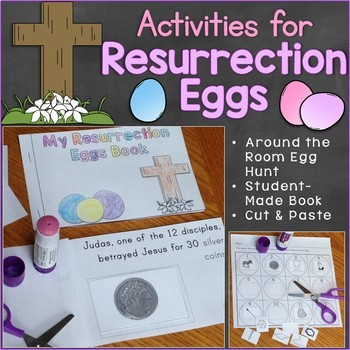 picture relating to Resurrection Egg Story Printable titled Resurrection Eggs Christian Easter Pursuits TpT