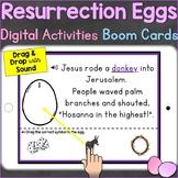 Resurrection Eggs Digital Easter Activities Boom Cards