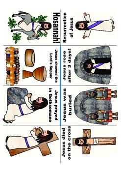 Resurrection of Jesus Mini Book Freebie