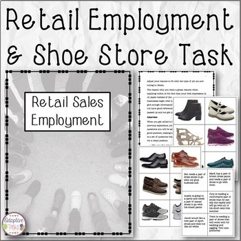 Retail Employment and Shoe Store Scenario Task