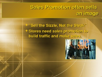 Retail Sales Promotion