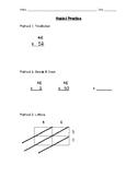 Reteach 2-Digit by 2-Digit Multiplication: 3 Methods to Ch