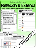 Reteach and Extend: SS5H7 Important Developments in American 1975 to 2001