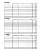 Reteaching Tracking & Score Log