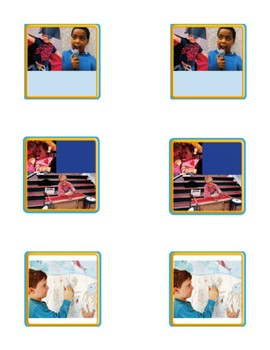 Retell Anchor Text - Journey's Unit 6 Bundle