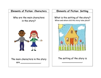 Retell Comprehension Cards