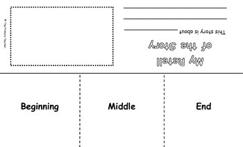 Retell Graphic Organizer for Primary Grades